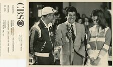 BARBARA RHOADES TOM BROOKSHIER CELEBRITY CHALLENGE OF THE SEXES '78 CBS TV PHOTO