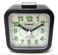 Casio TQ141-1 Black Travel Wake Up Timer Analog Travel Small Alarm Clock TQ-141