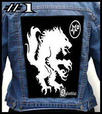 SATANIC WARMASTER  --- Huge Jacket Back Patch Backpatch --- Various Designs