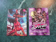 2014 Fall Non Sports Philly Card Show - Marvel Dangerous Divas Series 2 Promo P4