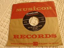 GENE PITNEY TRUE LOVE NEVER RUNS SMOOTH/DONNA MEANS HEARTBREAK MUSICOR 1032