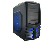 NEW Venuz Black ATX Mid Tower Gaming PC LED Desktop Computer Chassis Case Only