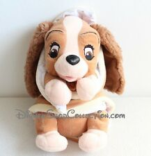 Peluche Lady DISNEY couverture La Belle et le Clochard chien TOY'S COMPANY (MO)