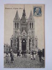 CPA - BONSECOURS (76) - L'église