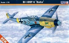 MESSERSCHMITT Bf 109 F-4 'HAHN' (LUFTWAFFE ACE MARKINGS) 1/72 MISTERCRAFT