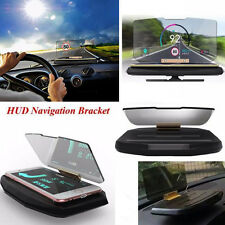 Universal Mobile Car GPS Navigation Bracket HUD Head Up Display for iPhone HTC