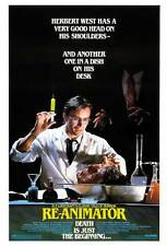 """RE-ANIMATOR  Movie Poster [Licensed-NEW-USA] 27x40"""" Theater Size H.P. Lovecraft"""