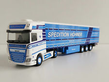 DAF XF E6 Sz Spedition höhner 1/87 H0 Herpa 305846 Plan Curtain - Trailer