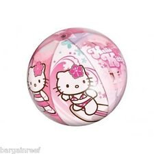 Hello Kitty beach ball inflatable pool toy blow up kids girl