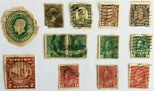 ANTIQUE RARE COLLECTIBLE SET OF CANADIAN CANADA POSTAGE STAMPS
