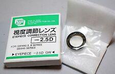 Fujifilm GW690 GS645 Camera Eyepiece Diopter -2.5D Correction Lens