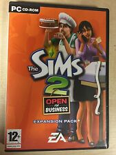 * PC Game * THE SIMS 2 OPEN FOR BUSINESS * EXPANSION PACK