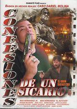 Confesiones De Un Sicario DVD NEW Max Hernandez ORIGINAL Narco Peliculas SEALED