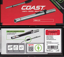 COAST A9R RECHARGEABLE LED PEN LIGHT WITH AC / DC, 54 LUMENS 19648