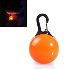Fascinating Pet Dog Cat Puppy LED Flashing Collar Safety Night Light Pendant