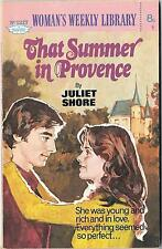 THAT SUMMER IN PROVENCE by JULIET SHORE Womans Weekly Library no. 1217 1975