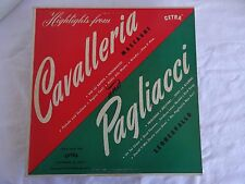 Highlights from Cavalleria & Pagliacci (Cetra A 50144)