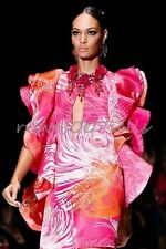 Cover Girl's GUCCI Ruffle Flounce DAHLIA Dress You Saw EVERYWHERE SS2013