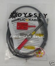 Odyssey Slic Kable Black BMX Bike Brake Cable Slick Teflon V U Old School MTB