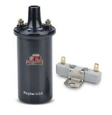 ignition coil 6 volt oil filled coil hot spark with ballast resistor