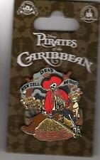 Disney Pirates Of The Caribbean Dead Men Tell No Tales 3D Pin New on Card