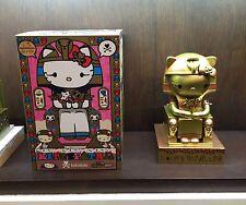 """TOKIDOKI x HELLO KITTY Limited Edition (500 Piece) Kittypatra GOLD 10"""" Vinyl NIB"""
