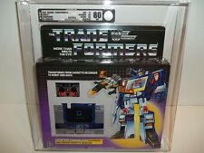 1984 Transformers G1 Series 1 **SOUNDWAVE** (B75/W80/F90) AFA 80Q NEAR MINT WOW!