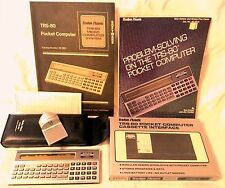 Vintage Radio Shack TRS-80 Pocket Computer Set - 6 Items in the Lot