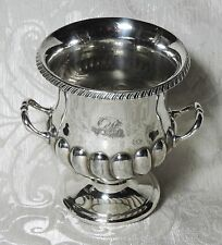 Vaso ad urna Sheffield vittoriano Atkin Brothers Urn Silver Plate Vase c1890's
