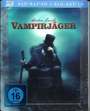 Abraham Lincoln Vampire Hunter Blu-ray 3D/  Blu-ray SteelBook Lenticular cover