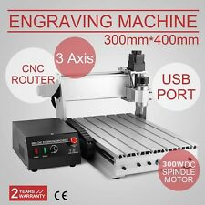 In US 3 AXIS 3040 CNC Router Engraver 3D Engraving Drilling Milling Machine 230W