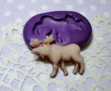 Silicone Mold Moose Mould (28mm) Cake Topper Jewelry Clay Scrapbooking Resin