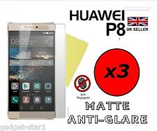 3x HQ MATTE ANTI GLARE SCREEN PROTECTOR COVER SAVER FILM GUARD FOR HUAWEI P8