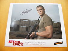 PHILIP WINCHESTER GENUINE HAND SIGNED AUTOGRAPH OFFICIAL STRIKE BACK PHOTO & COA
