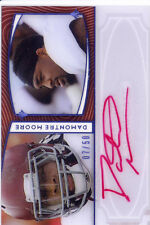 damontre moore rc rookie draft auto texas a&m aggies red ink sp college /50 2013