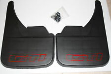 PEUGEOT 205 GTI 1.9  MUD FLAPS FRONT OR REAR RED.