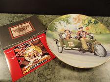 Harley Davidson 1995 Road Trip Collectors Plate Spring Break