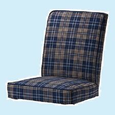 IKEA Henriksdal Chair Cover Rutna Multi-Blue Plaid NEW SlipCover-MultiShipDiscnt