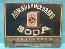 Arm & Hammer Soda Temperature Thermometer Celsius Fahrenheit Antique Retro