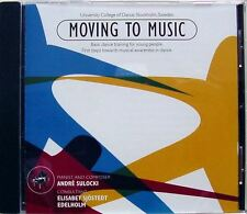 Moving to Music [CD] by Andre Sulocki; For teaching dance & movement to children