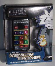 Einstein Brain Games Micro Memory Trainer by Excalibur 2011