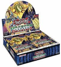 5 X Paquetes Yugioh! dragones de leyenda Unleashed Booster Box: 25 tarjetas en total