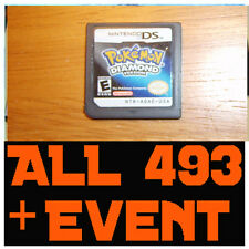 Pokemon Diamond - All 493 Pokemon + LEGIT EVENTS TRU ARCEUS MEW UNLOCKED