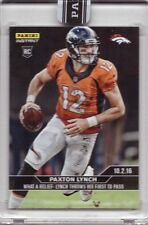 2016 Panini Instant NFL Football Black #79 Paxton Lynch Rookie Card 1 of 1!  1/1