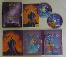 RARE COLLECTOR 2 DVD DIGIPACK WALT DISNEY LA BELLE AU BOIS DORMANT N° 18