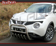 NISSAN JUKE 2010+ BULL BAR, NUDGE BAR, A BAR + GRATIS! STAINLESS STEEL