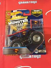 Superman DC Heroes 1/2 2017 Hot Wheels Monster Jam Case H