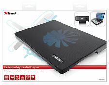 "TRUST 15.6"" NOTEBOOK LAPTOP COOLER COOLING STAND, BIG 160MM FAN, EXTRA USB PORT"