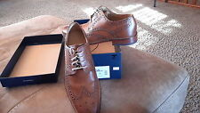 Cole Haan Men's Giraldo WNGTPII Color British Tan Size 8 M