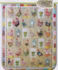 Hen House - applique & pieced quilt PATTERN - Claire Turpin Designs
